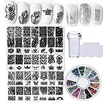 Bellelfin Nail Art Stamping Kit