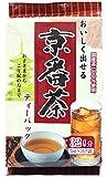 つぼ市 おいしく出せる京番茶 ティーパック 5gX32袋