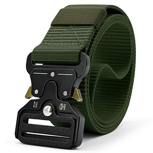Doopai Tactical Belt,Military Style Quick Release Metal Buckle Belt,1.5' Heavy-Duty Nylon...