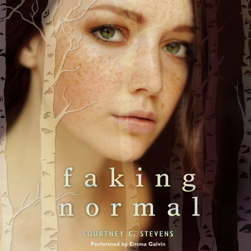 Faking Normal  audiobook cover art