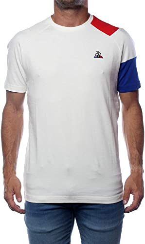 Le Coq Sportif Tee Shirt TriCouleure BBR MarshmalFaible