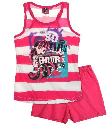 Monster High Shorty-Pyjama pink (140)