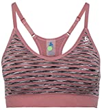 Odlo Damen Sports Bra Padded Seamless Soft BH, mesa Rose, L