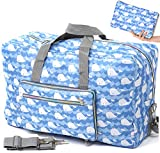 Foldable Travel Duffle Bag for Women Girls Large Cute Floral...