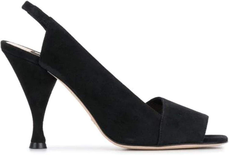 Sebastian Luxury Fashion Damen S7979CAMschwarz Schwarz Sandalen    Frühling Sommer 19  weltweite Verbreitung