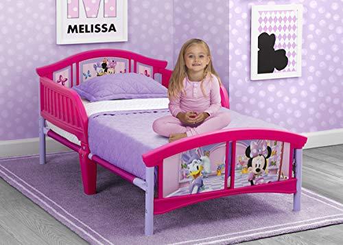 Delta Children Plastic Toddler Bed, Disney Minnie Mouse
