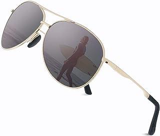 comprar comparacion Cyxus Gafas de Sol Hombre Polarizadas, Gafas de Sol para Hombre UV400 Protection - Stylo Clásico Retro