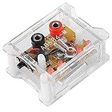 Módulo de referencia de voltaje de alta precisión, módulo de referencia de voltaje de 4 canales AD584KH 2,5 V / 7,5 V / 5 V / 10 V con carcasa