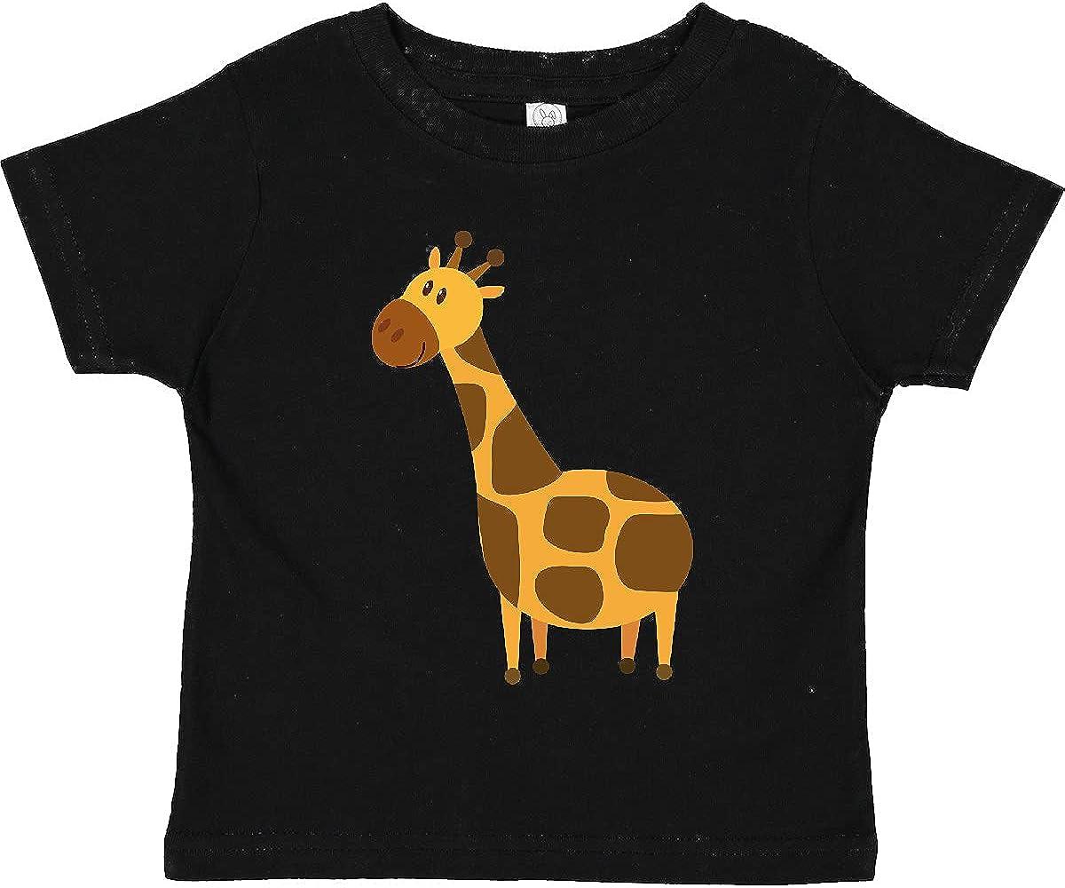 inktastic Giraffe Jungle Zoo Animal Toddler T-Shirt