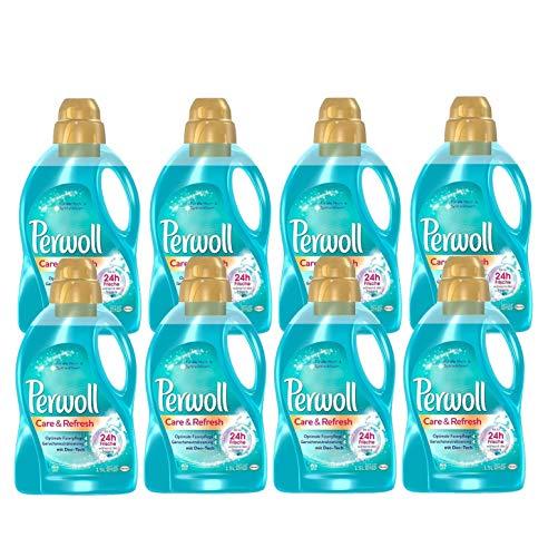 Perwoll Care & Refresh Feinwaschmittel, für alle Misch- & Synthetikfasern (160 (8 x 20) Waschladungen)