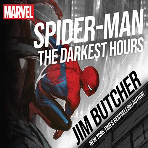 Spider-Man: The Darkest Hours audiobook cover art