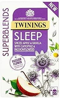 Twinings Sleep Tea Bags 20 per pack - Pack of 2