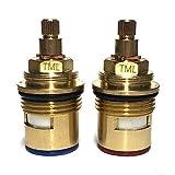 8:24 SPR10 - Cartucho de válvula de grifo de cerámica compatible con Hudson Reed Ultra Premier (frío y caliente)