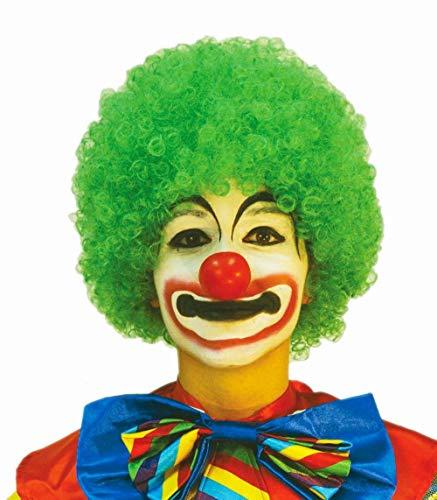 Perruque de clown - couleur vert