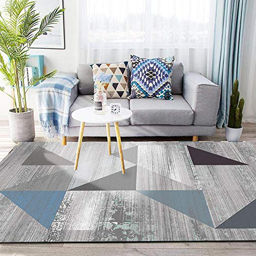 CEOTON - Alfombra moderna y sencilla para salón o sofá, mesa de té, alfombra para el hogar, dormitorio abstracto WS768-200 x 427 cm