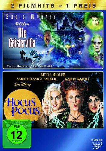 Die Geistervilla / Hocus Pocus [2 DVDs]