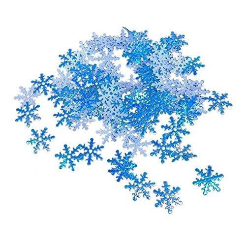 Tingz 600 Piezas de Confeti de Copos de Nieve,Papel de Copo de...