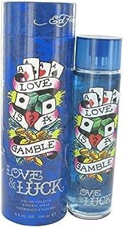 Love & Luck by Christian Audigier Eau De Toilette Spray 6.7 oz for Men - 100% Authentic