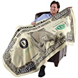 Milion Dolar Fleece Throw Blanket (71' X 35')
