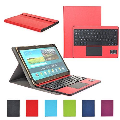 Feelkaeu Compatible with SAMSUNG Teclado Bluetooth Español Layout con Multi Touchpad...