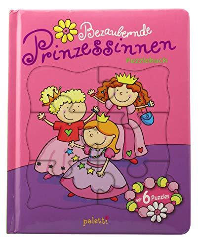 paletti Puzzlebuch Bezaubernde Prinzessinnen Vorlesebuch mit 6 Puzzles