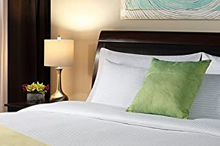 Luxury Hotel & Resort Bed Sheet Set - Ni Nights Bedding Linen - Premium Cotton & Poly with 320 Thread Count Sheet Set - Available in King