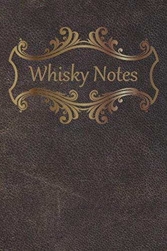 Whisky Notes: Whisky-Tasting-Buch I 80 Seiten Softcover I Für jeden Whiskyliebhaber ein Must-Have I Geschenkidee Weihnachten oder Geburtstag I ... Whisky-Tasting I Motiv - klassisch Leder