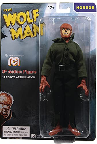 Mego The Wolfman Horror Action Figure 8'