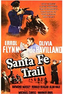 Santa Fe Trail Movie Poster (27 x 40 Inches - 69cm x 102cm) (1940) -