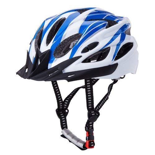 Lista Outdoor Sport Bicycle Helmet Integrated Molding Breathable Cycling Helmet for Man Woman (Blue)