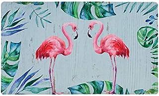 Doormat Entrance Floor Mat Rubber Back Non Slip Doormat Welcome Printing Indoor Outdoor Door Mat Non-Woven Fabric Top 17x2...