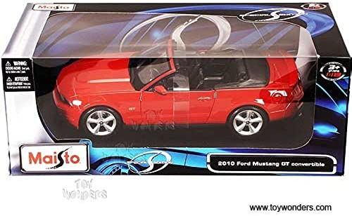 31158 Maisto Special Edition 2010 Ford Mustang GT ConGrünible,rot 1 24 Scale Diecast by Maisto