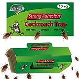 KafooStore - Trampa para cucarachas, con trampa de pegamento, atrapasueños y cucarachas, repelentes de insectos, no tóxica