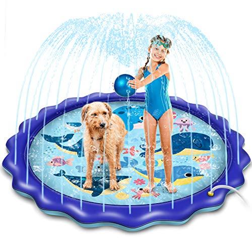(50% OFF) Outdoor Fun Water Splash Pad $14.99 – Coupon Code