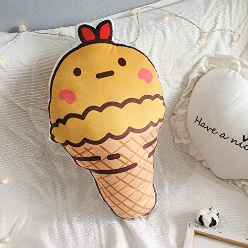 not Kreatives 3D-Süßes EIS Sweet Tube Pillow Gefülltes Plüschkissen Mit Innerem Home-Office-Kissen Geburtstagsgeschenk 30-50Cm B.