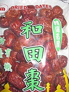 16 Oz. Big Dried Fruit Jujube Chinese Red Dates Healthy Snack Food