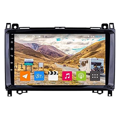 ZHANGYY Navegación GPS Reproductor Multimedia táctil Sn de 9 Pulgadas Compatible con Benz B200 Clase B, Bluetooth/GPS/WiFi/USB/SWC/Mirror Link/FM/Cámara de visión Trasera