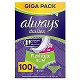 Always Flexistyle Slim Fresh Slipeinlagen, 100 Stück