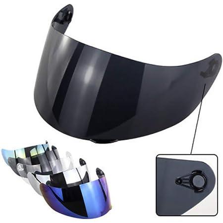 Visera de casco,Tickas Ajuste de la cara del visor de la lente del casco del escudo del viento de la motocicleta para AGV K1 K3SV K5