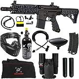 Maddog Tippmann TMC MAGFED Private HPA Paintball Gun Starter Package - Black