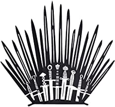 Game of Thrones Wall Sticker - Game of Thrones Bathroom Decoration - Iron Throne Behind Toilet On Bathroom Wall – Toilet Iron Throne Parody