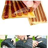 Case&Cover Tiras 5pcs Rápida De Neumáticos Reparación De Gaza Neumático Sin Tubo De Reparación De Automóviles Bici De La Vespa Motocicleta del Coche De Goma