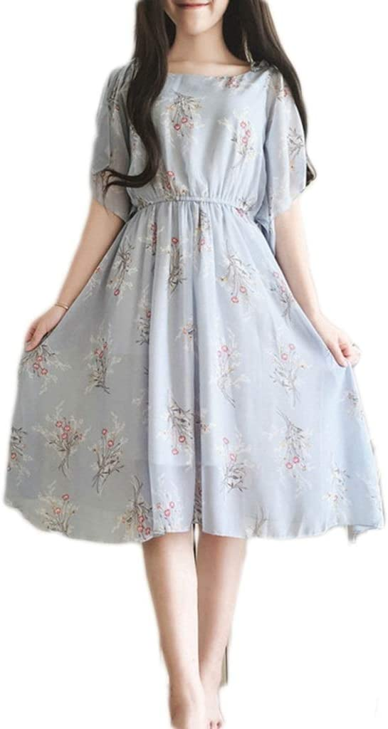 Dress,Women's Cocktail Formal Latest item Swing Long Flower in Fresh Product Th