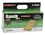 Neogen Ramik Fish Flavored Weather Resistant Rodenticide Bars, 4 x 16 oz Bars (4lb)