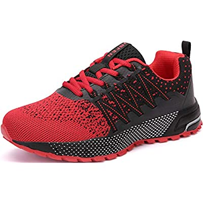 KUBUA Mens Running Shoes Womens Walking Gym Training Shoes Fitness Jogging Athletic Casual Footwear Sneaker