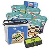 hand2mind VersaTiles Math Classroom Set, an Independent Self-Checking & Skill Practicing System (Grade 8), Aligned to State and National Standards