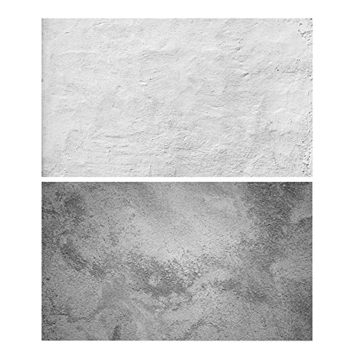 MAYOKIAAR Sfondo Fotografico 86,4 x 55,9 cm Doppio Lato Fondali Impermeabile & Portatile Texture Modello Carta per Desktop Photo Shoot Videografia