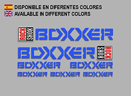 PEGATINAS BOXXER 2015 F154 VINILO ADESIVI DECAL AUFKLEBER MTB STICKERS BIKE AZUL