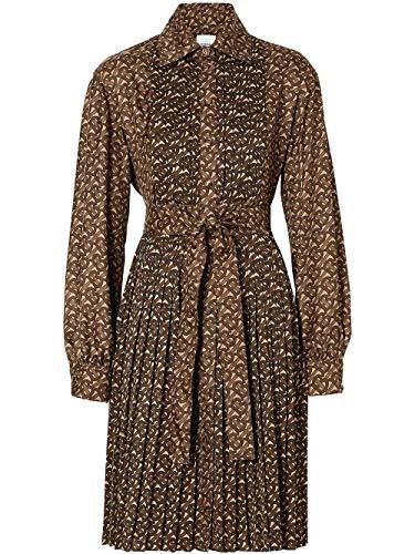 BURBERRY Luxury Fashion Damen 8025041 Braun Polyester Kleid | Frühling Sommer 20
