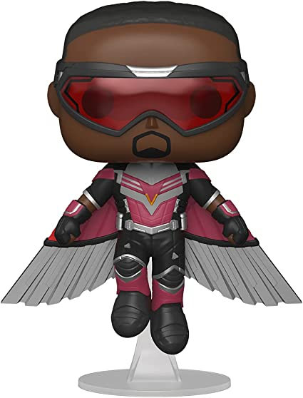 Funko Pop! Marvel: The Falcon and The Winter Soldier - Falcon (Flying) Vinyl Collectible Figure